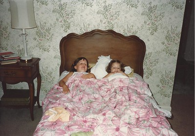 Catherine & Lauren at G&G's - Summer '83
