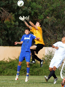 Chris showing how high he can jump in his 1st game with Legends FC BU18.  9/22/13