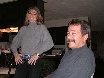 My brother Dave and Cheri