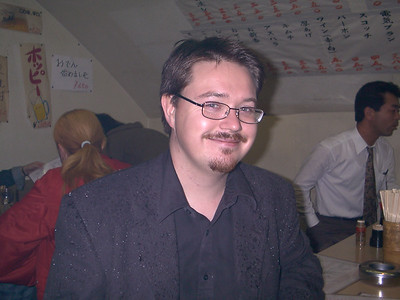 My brother Sören's visit 2001