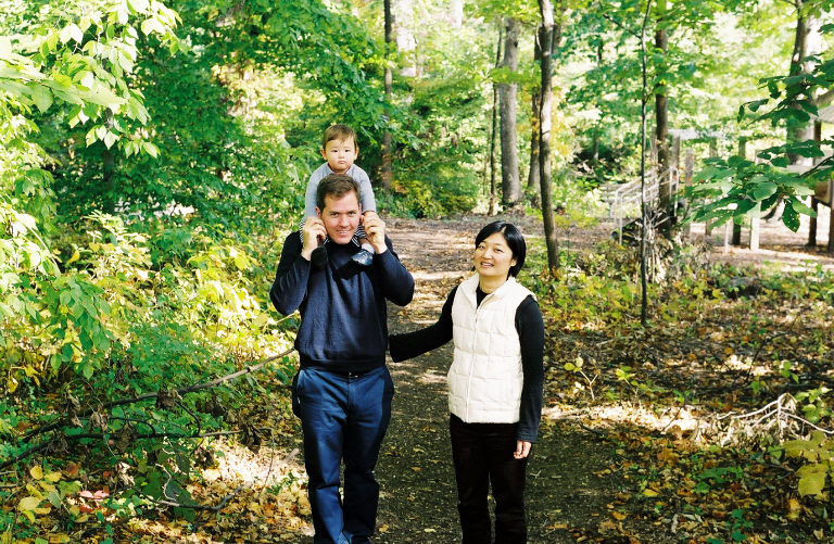 Daniel, Linda & Otto - Alexandria, VA, 2003