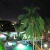 7  overlooking patio garden in hotel