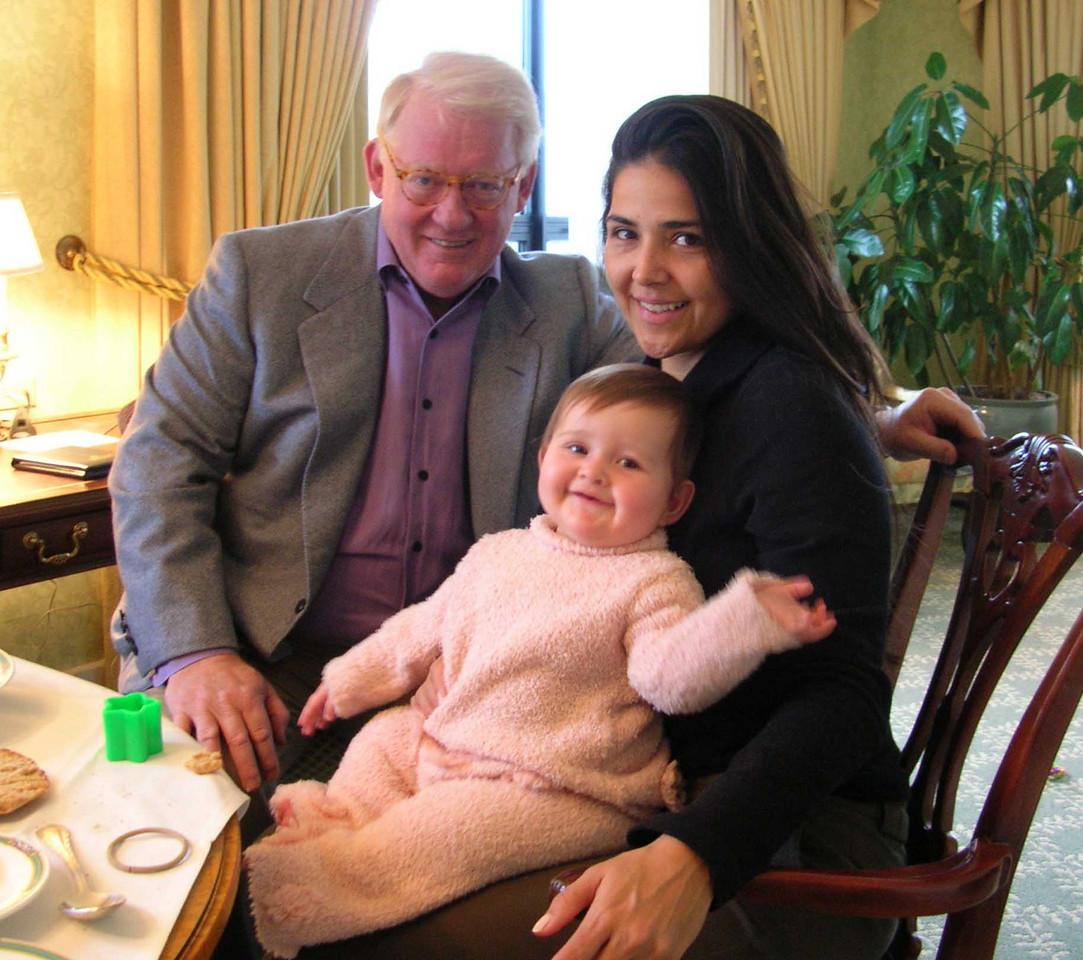 with Vanessa and Simone, 2005