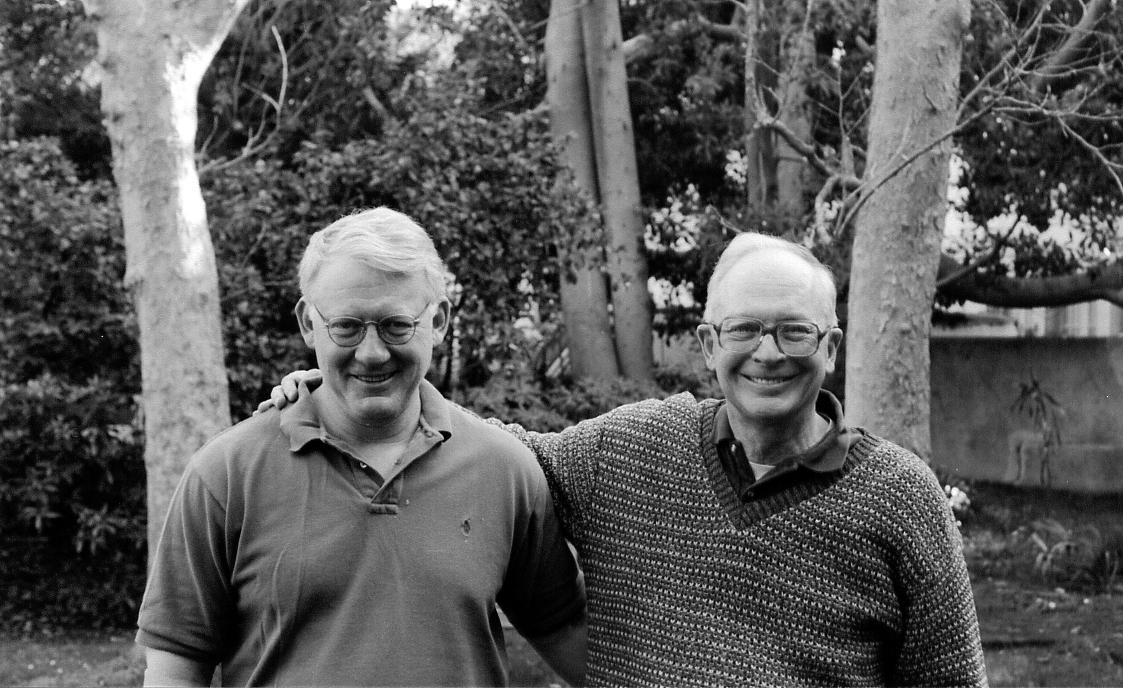 Los Angeles, 1998 - with brother Steve
