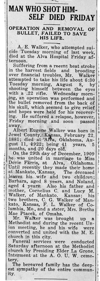 eugene walker obituary august 11 - 1922 130