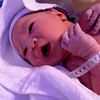 Myriam Joy, just after birth and a few days later.<br /> <br /> filmed with my lumix ts2.