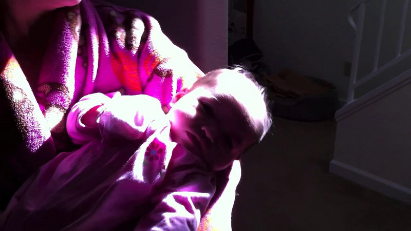 January 21, 2011 - dancing in the sun with mommy!