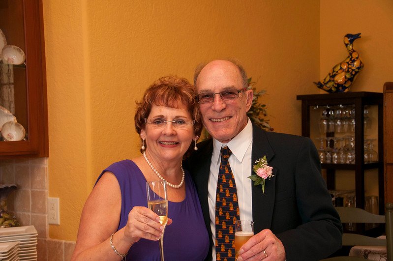 Myrna and Bo are Married