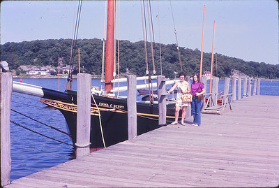 Oyster boat named after Aunt Edna--formerly owned by her father