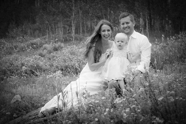 Natalie & Nate McCalla family in Crested Butte, Colo on July 16, 2013. (Photo/Nathan Bilow)