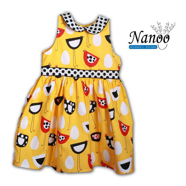 yellow bird dress 1