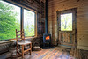 With a cold and rainy spring we are still having wood fires into May.