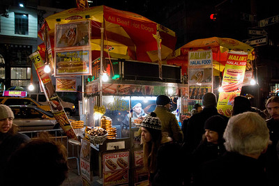 NYC street vendor, December 17th, 2011