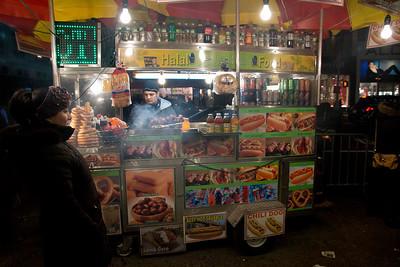 NYC Street Vendor, December 17, 2011