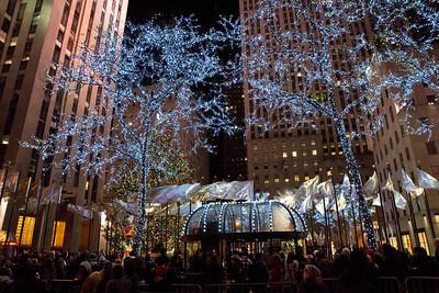 Rockefeller Plaza, NYC December 17, 2011