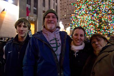 Derek, myself, Jillian & Darlene, December 17, 2011