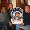 At Camille's birthday party <br /> Mark, Uncle Tony, Desmond, Lolo Roli