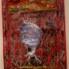 An Exhitition of Contempory Fiber Art - Cranes in the Chile Field by Judith Roderick
