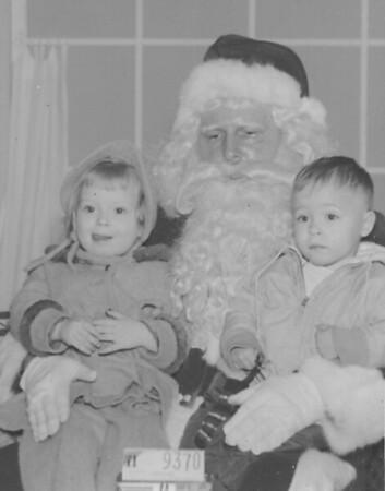 Debbie & Terry with Santa