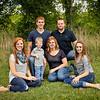 Nancy, Derek, and family :