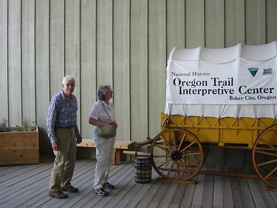 For more pictures of the Oregon Trail Interpretive Center, see our Oregon/Idaho vacation photos or the center's website.