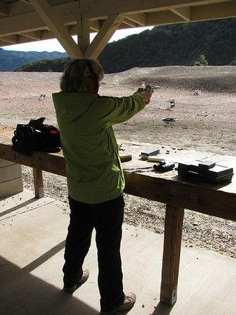 Nancy get your gun, Burro Canyon  1/1/2013