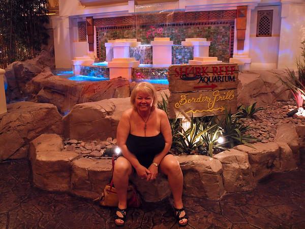 Nancy at the Coral Reef in Las Vegas - 19 June 2010