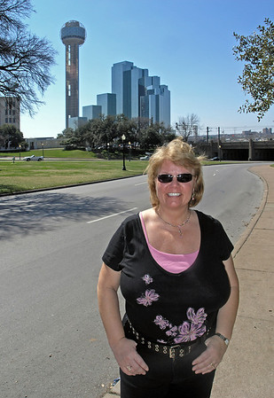 Nancy at the spot - 28 Feb 2006