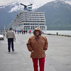 Nancy on Alaska Dance Cruise - 1 June 2003