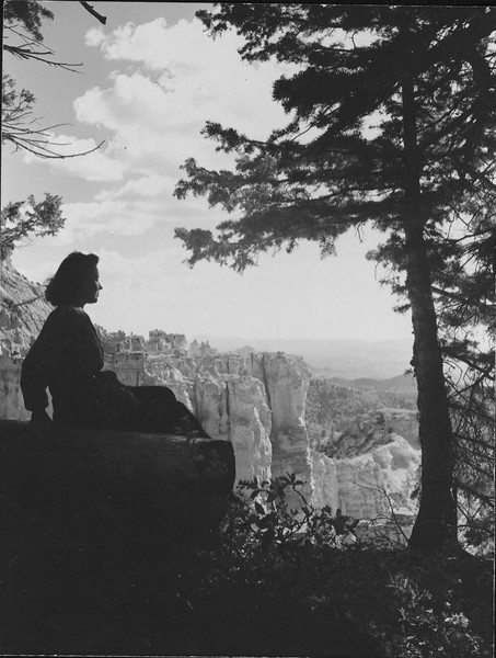 Eugenia Breeze Hawkins at the Bryce Canyon