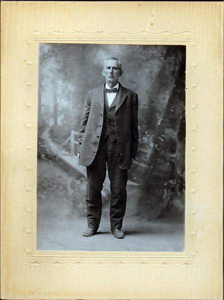 Moses Oldham, Nancy's Grandmother Breeze's father.