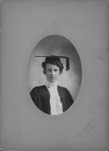 Ethel Josephine Oldham college graduation.