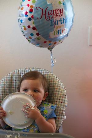 Narayan's 1st Birthday