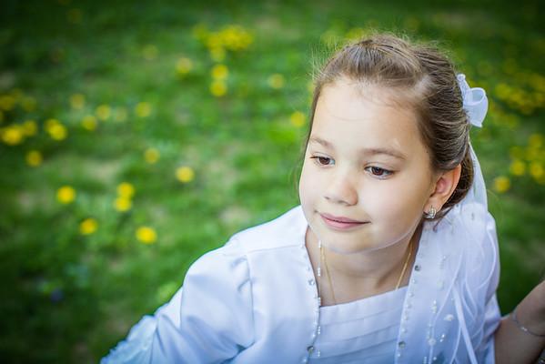 Natalia {first communion}