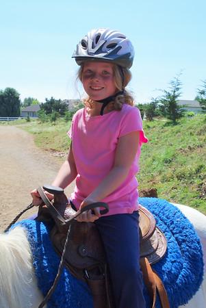 Natalie Riding Lessons - Aug 2012