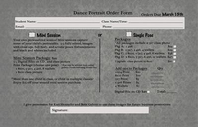 Dance order back 3