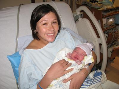Welcome Natasha Emily Taylor, good job Mommy