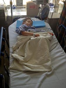 Nate's hernia surgery