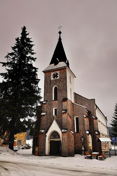 kostel sv. Štěpána ve Kvildě