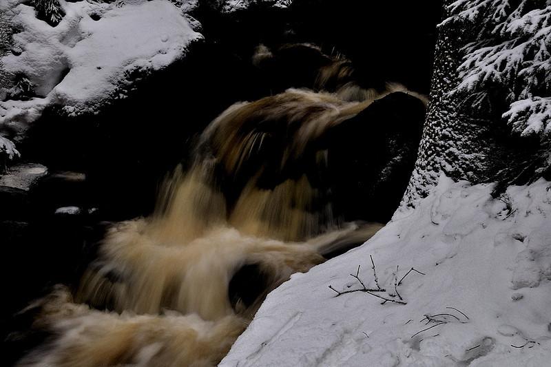 vodopád Jezerního potoka