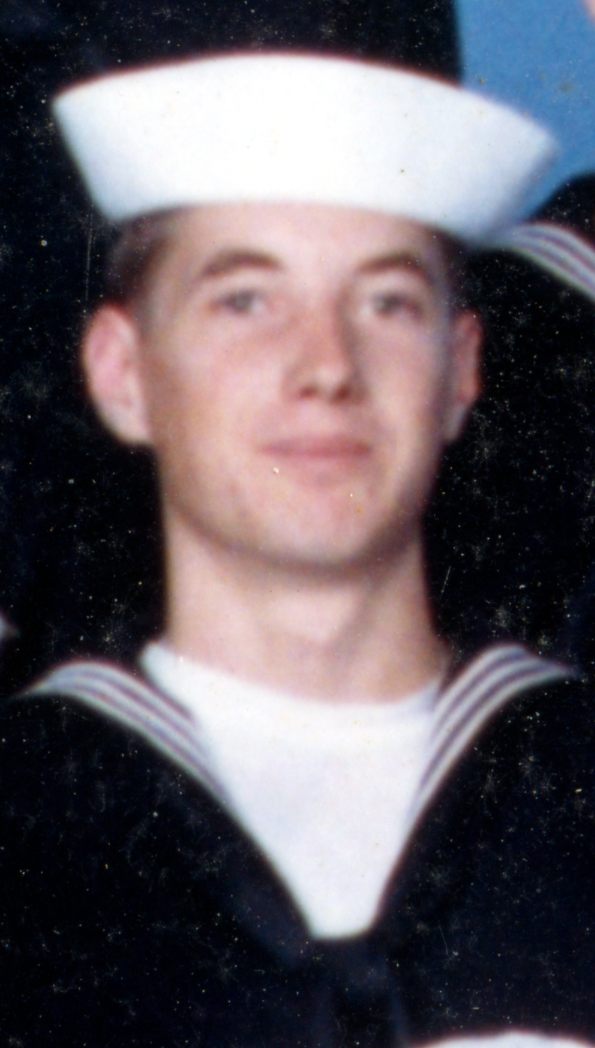 Here is a close up from the group picture of me. I still have the Navy suite.