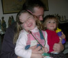 Thomas Mannion,husband of Stephanie Neal Mannion)  with daughters Katie and Tara.