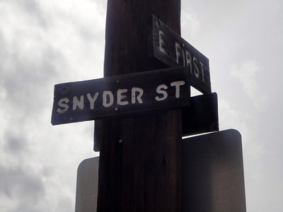 Devoting an entire street to me in honor of my visit!