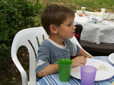 Miller eating