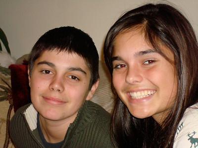Jeff & Allison - Xmas 08