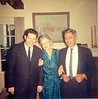 This was in the home of Patricia, my first wife, and me, in Berkeley, probably in 1965 to celebrate both my getting my BS from U.C. Berkeley and the birth of our first child, Andrea. Nestor, Genevieve and Conrad.