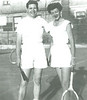 Nestor met Evelyn (Timmie) Thompson in Chicago during a sales trip. She became Nestor's first wife, and a dear friend to our small family. She was like a big sister to Diane and me.<br /> <br /> Nestor was extremely competitive in tennis and in the card game of bridge, both of which our family enjoyed.