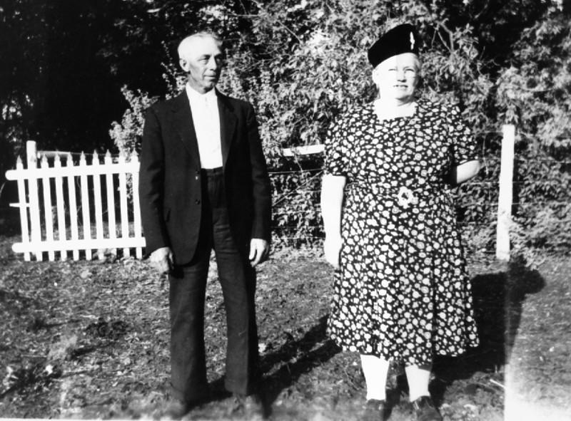 Grandpa and Grandma Wiebe