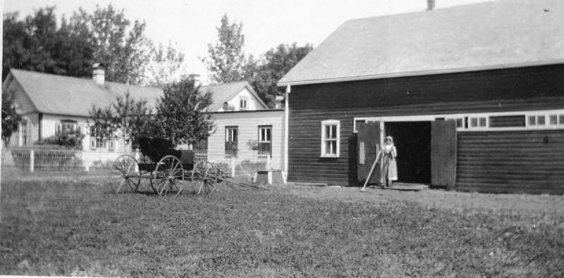 Grandpa-Grandma Wiebe Farm