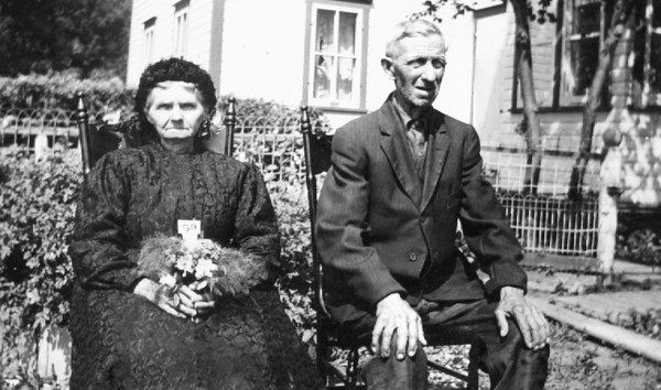 Great Grandpa and Grandma Wiebe